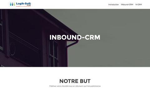 Screenshot of Blog n-crm.com - N-CRM 3.0 | Gestion de la Relation Client CRM - captured Feb. 1, 2016