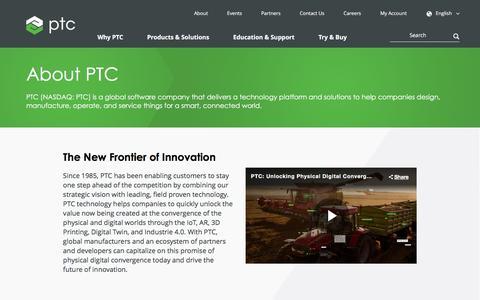 About Us   PTC