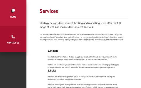 Screenshot of Services Page boost.co.nz - Agile Web & App Development – Boost, Wellington, New Zealand - captured Oct. 10, 2017