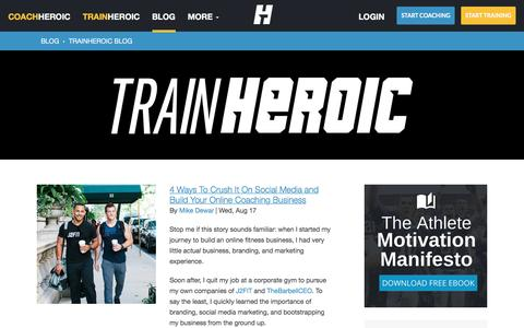 Medium traffic Sports pages on HubSpot | Website Inspiration