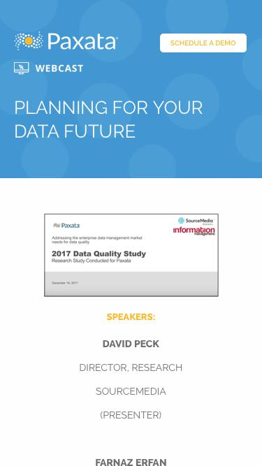 On-Demand Webcast with Information Management: Planning for your data future