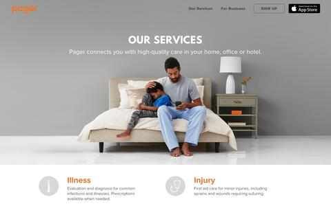 Get High-Quality Medical Care On-Demand in NYC & SF | Pager