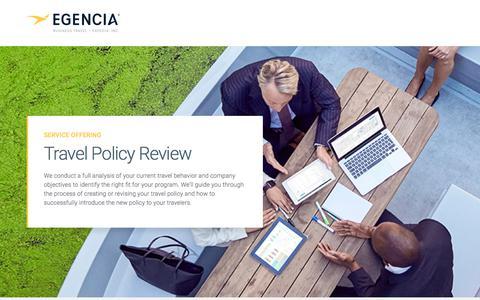 Screenshot of Landing Page egencia.com - egencia - captured July 23, 2018