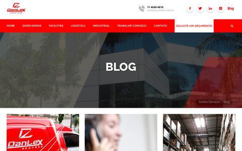 Screenshot of Blog danlex.com.br - Blog – Danlex Serviços - captured Oct. 22, 2018