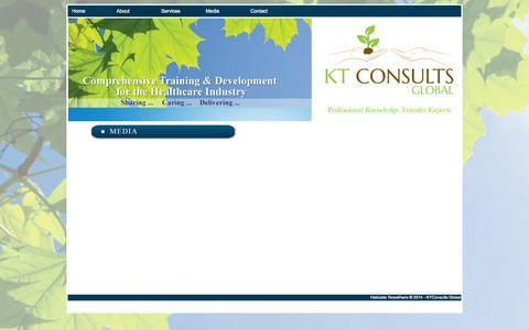 Screenshot of Press Page ktconsultsglobal.com - KTConsults - captured Sept. 30, 2014
