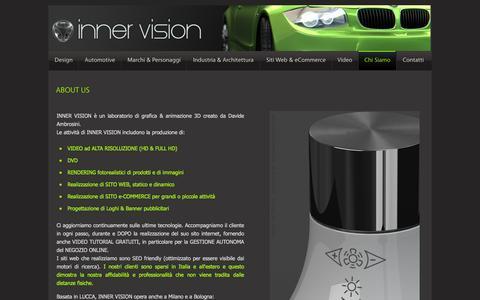 Screenshot of About Page davideambrosini.com - About Us: Realizzazione siti web, servizi internet & eCommerce - Studio di grafica 3d (Lucca - Bologna - Milano) di Davide Ambrosini - captured Feb. 8, 2016