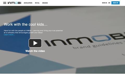 Screenshot of Jobs Page inmobi.com - Hiring   Careers   InMobi - captured Nov. 23, 2015