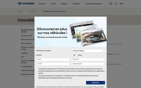 Hyundai sur les réseaux sociaux - Hyundai Motor France