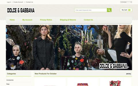 Screenshot of Home Page summithillfarmnc.com - Dolce & Gabbana Clothing 100% High Quality Guarantee - Free Shipping And Easy Returns - captured Oct. 30, 2018
