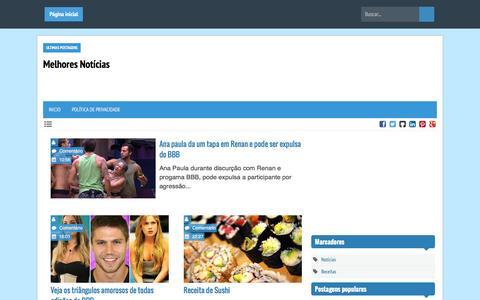 Screenshot of Home Page melhoresnoticias.info - Melhores Notícias - captured March 24, 2016