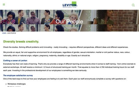 Screenshot of Team Page brand-rex.com - Our People | Leviton Network Solutions Europe - captured Nov. 6, 2018