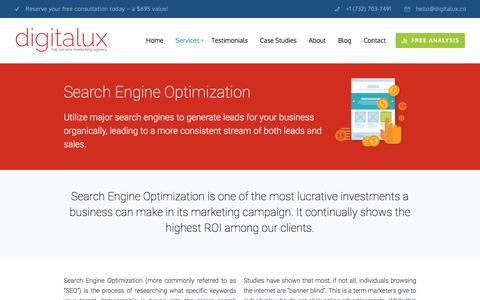 NJ Search Engine Optimization Company | Digitalux