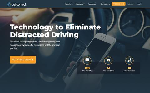 Cellcontrol | Eliminate Distracted Driving | Stop Texting While Driving
