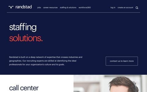Recruiting Solutions | Randstad USA