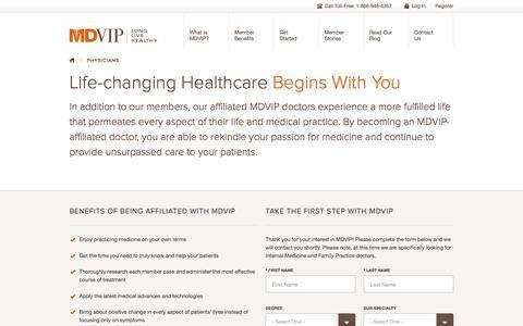 MDVIP Doctors | Providing Preventive Healthcare | MDVIP.com