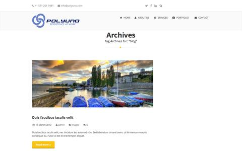 Screenshot of Blog polyuno.com - blog   PolyUno - captured Sept. 30, 2014