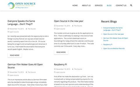 Screenshot of Blog oscgp.com - BLOG - captured Nov. 29, 2016