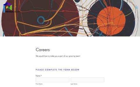Screenshot of Jobs Page prymusgroup.com - Careers — Prymus Group - captured Jan. 7, 2018
