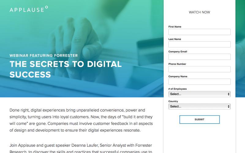 Webinar: The Secrets To Digital Success
