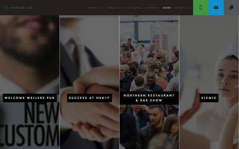 Screenshot of Press Page vardells.co.uk - News   Vardells - captured June 19, 2017