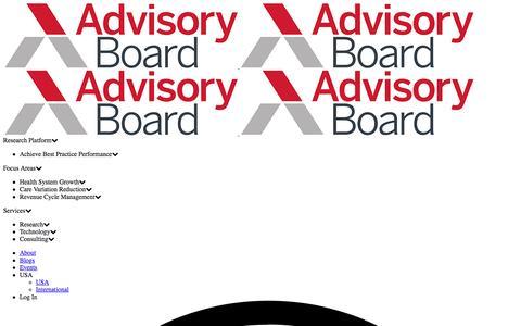 Crimson Population Health | The Advisory Board Company