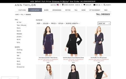 Dresses for Tall Women - Maxis, Sundresses & More l ANN TAYLOR