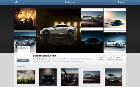 Screenshot of Instagram Page instagram.com - Instagram - captured Nov. 2, 2014
