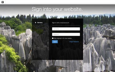Screenshot of Login Page drgok.com - Delaware Resource Group :: Login - captured Dec. 11, 2015
