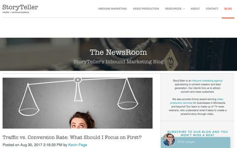 Inbound Marketing & Video Production Blog - The NewsRoom