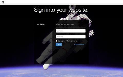 Screenshot of Login Page drgok.com - Delaware Resource Group :: Login - captured Dec. 16, 2015