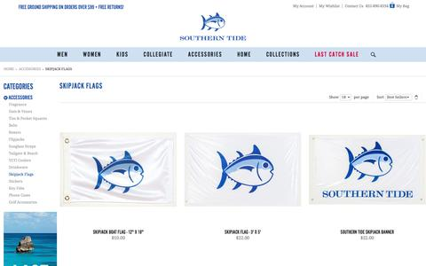 Skipjack Flags & Banners | Skipjack Gear | Accessories | Southern Tide