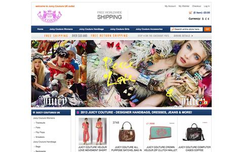 Screenshot of Home Page bmsmk.co.uk - Juicy Couture - Cheap Juicy Couture Sale UK,Juicy Couture Tracksuit Outlet Online Store - captured Oct. 24, 2014