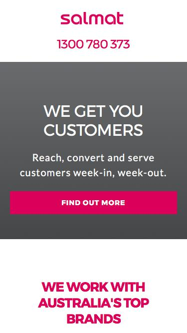 Reach, convert and serve your customers | Salmat