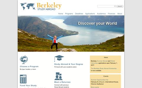 Berkeley Study Abroad | Discover Your World