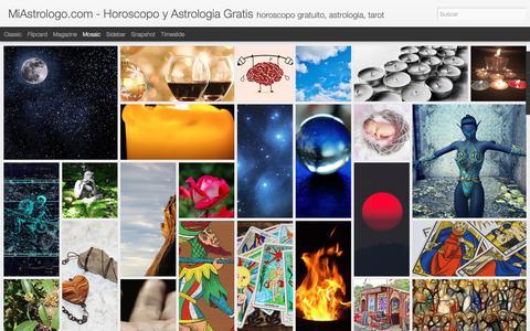Screenshot of Home Page miastrologo.com - MiAstrologo.com - Horoscopo y Astrologia Gratis - captured Nov. 27, 2018