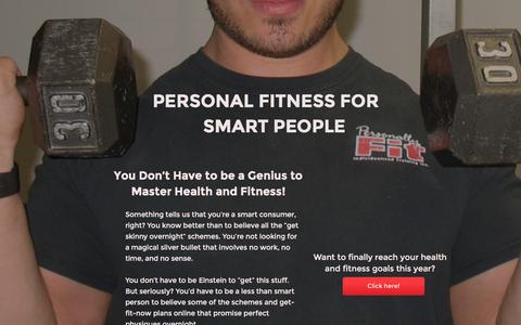 Screenshot of Signup Page personallyfit.net - PF Membership site - captured Nov. 5, 2016