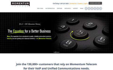Momentum Telecom | VoIP and Unified Communications