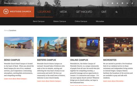 Locations Pages on LightCMS | Website Inspiration and