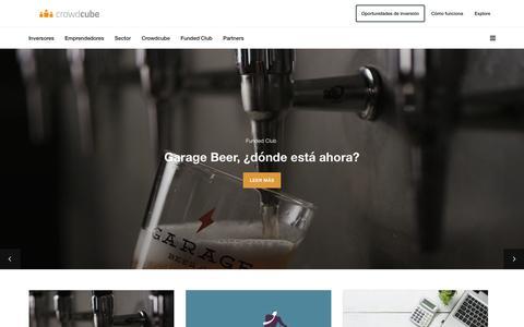 Screenshot of Blog crowdcube.es - Crowdcube Explore – Crowdcube Explore - captured Nov. 13, 2017