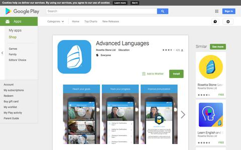 Advanced Languages - Android Apps on Google Play