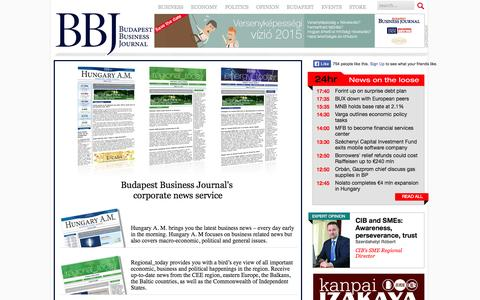 Screenshot of Trial Page bbj.hu - trial  | The Budapest Business Journal on the web | bbj.hu - captured Sept. 24, 2014