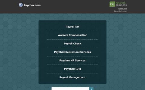 Paychex.com