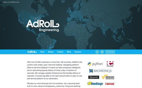AdRoll — Engineering