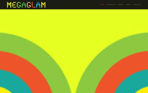 Screenshot of Home Page khyaland.com - kHyal is MegaGlam | All kHyal™, All the time … - captured Oct. 6, 2014