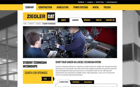Diesel Technician Internships - Diesel Mechanic Interns | Ziegler CAT