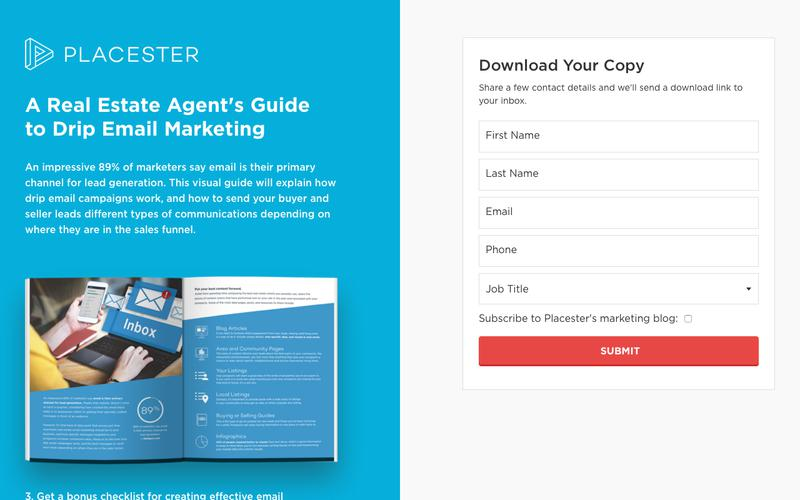Real Estate Drip Email Marketing Guide | Placester