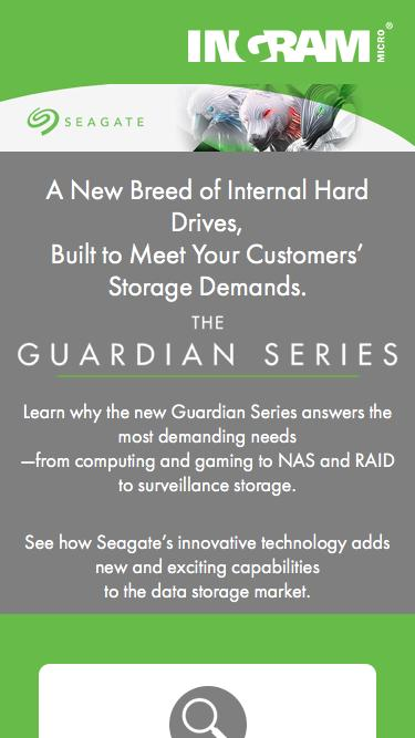 Seagate Guardian Series