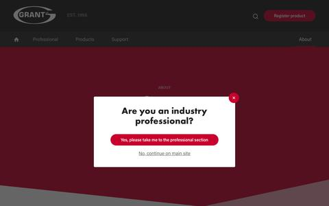 Screenshot of Jobs Page grantuk.com - Careers | Grant UK - captured Sept. 29, 2018