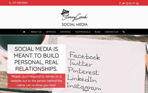 Stoney Creek Social Media - Stoney Creek Social Media