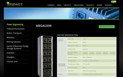 Screenshot of Products Page icpt.pl - Products - ICPT - captured June 10, 2016